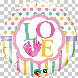 Balloon Infant Baby Shower Birthday Party PNG