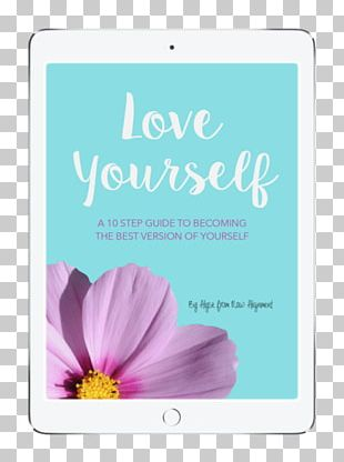 E-book Coloring Book Love Yourself Raw PNG