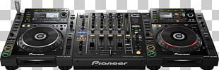 CDJ-2000 DJ Mixer Disc Jockey Audio Mixers PNG