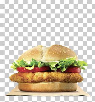 TenderCrisp Chicken Sandwich Burger King Specialty Sandwiches Hamburger Chicken Fingers PNG