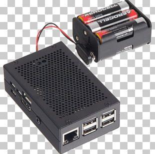 Computer Cases & Housings Raspberry Pi 3 Aluminium Elektor PNG