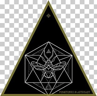 Triangle Sacred Geometry Icosahedron Symbol PNG