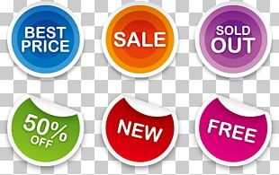 Sticker Sales Label Printing PNG