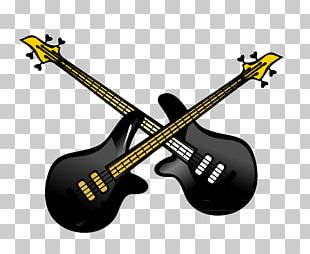 Bass Guitar Acoustic-electric Guitar Musical Instrument PNG