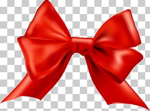 Bow Tie Red Shoelace Knot PNG