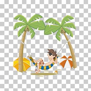 Beach Cartoon PNG
