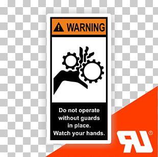 Warning Label ANSI Z535 UL Sicherheitsetikett PNG