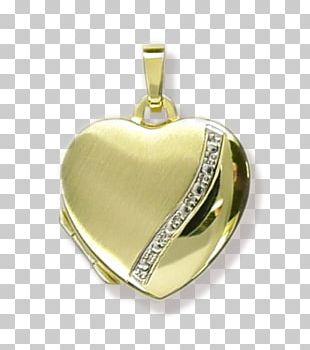 Locket Gold Heart Charms & Pendants Jewellery PNG