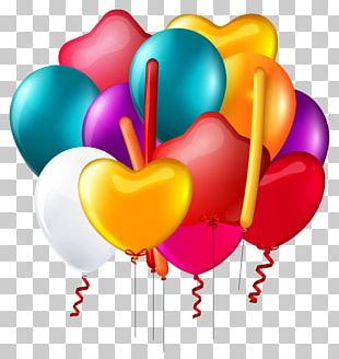 Toy Balloon Party Birthday Gift PNG