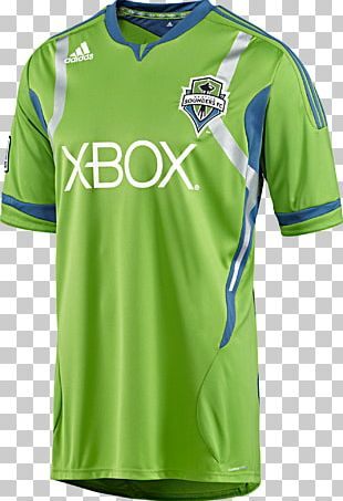 Seattle Sounders FC 2012 Major League Soccer Season Portland Timbers T-shirt Jersey PNG