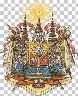 Emblem Of Thailand Coat Of Arms Monarchy Of Thailand Symbol PNG