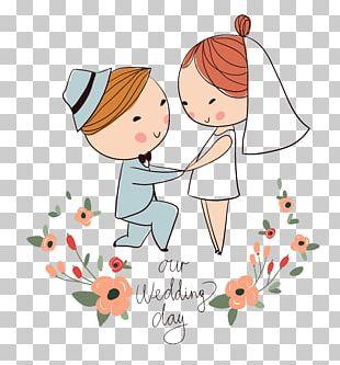 Wedding Invitation Drawing PNG