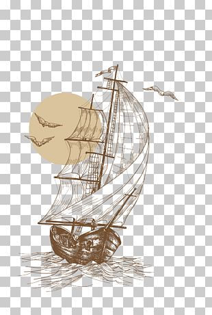 Sailboat Drawing Sailing Ship PNG