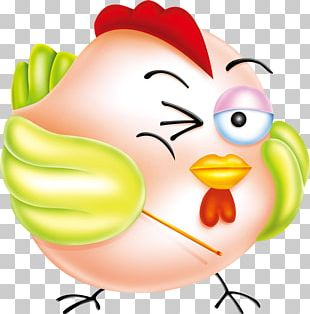 Chicken Rooster Mascot PNG