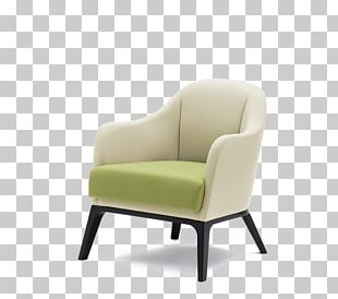 Wing Chair Couch Club Chair Armrest PNG