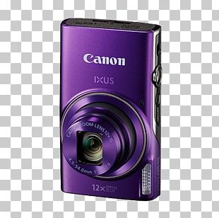 Canon Point-and-shoot Camera Photography 12x Optical Zoom PNG