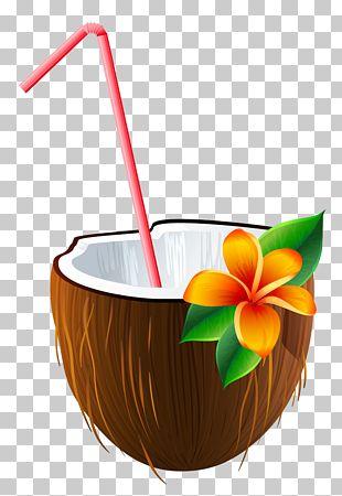 Cocktail Blue Hawaii Piña Colada Margarita Coconut Water PNG