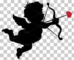 Valentine's Day Cupid Craft PNG