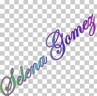 Selena Gomez & The Scene Text Logo Art PNG