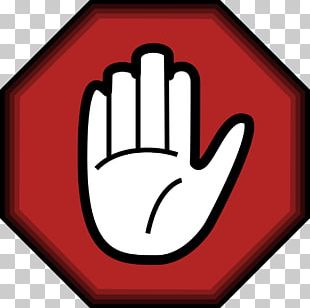 Stop Sign Hand Symbol PNG