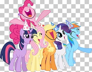 Pinkie Pie Twilight Sparkle Rarity My Little Pony PNG