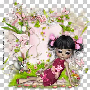 Floral Design Pink M Rose Family Fairy PNG