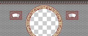 Window Text Arch Frame Pattern PNG
