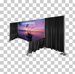 Trade Show Display Exhibition Banner Textile Custom Exhibit Backdrops PNG