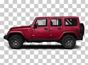 2018 Jeep Wrangler JK Unlimited Rubicon Chrysler Dodge Sport Utility Vehicle PNG
