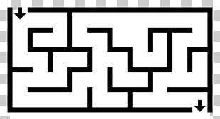 Maze Solving Algorithm Labyrinth Maze Generation Algorithm Pac-Man PNG