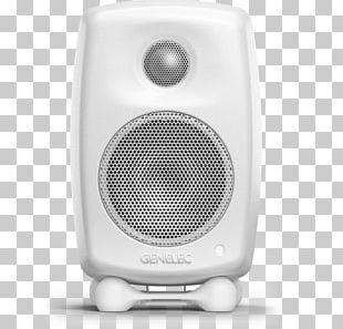 Genelec G One 2-way Active Speaker Loudspeaker Audio Powered Speakers PNG
