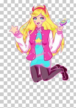 Barbie Cartoon Pink M Legendary Creature PNG
