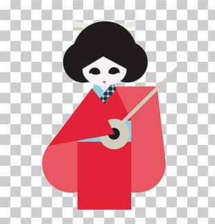 Japanese Dolls Illustration PNG