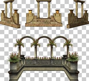 Arch Column Window Graphics Door PNG