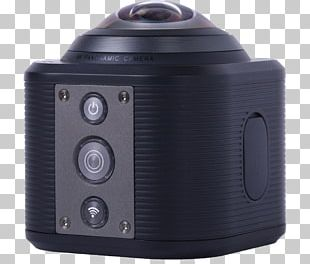 Camera Lens Omnidirectional Camera 4K Resolution Video Cameras PNG