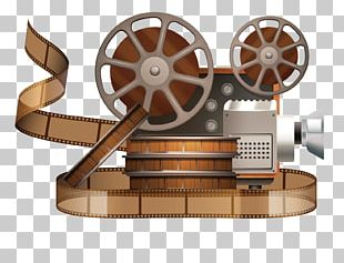 Movie Projector Reel Film PNG
