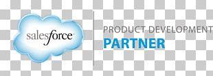 Salesforce.com Customer Relationship Management Cloud Computing Partnership PNG
