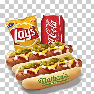 Hot Dog French Fries Chili Dog Fizzy Drinks Hamburger PNG