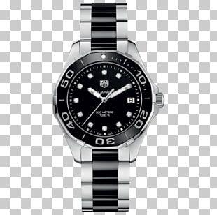 TAG Heuer Aquaracer Watch Swiss Made Jewellery PNG