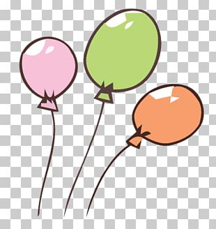 Balloon Color Cartoon Speech Balloon PNG