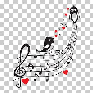 Musical Note Wall Sticker PNG