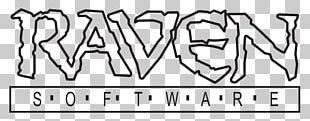 Raven Software Video Game Developer Calligraphy Logo PNG