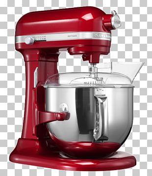 KitchenAid Artisan KSM7580 Mixer Food Processor Home Appliance PNG