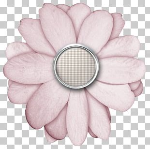 Paper Digital Scrapbooking Flower Petal PNG
