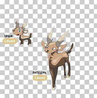 Reindeer Antler Pack Animal Fauna Cartoon PNG