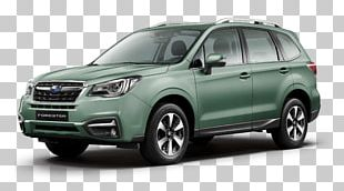 2018 Subaru Forester Car 2016 Subaru Forester Compact Sport Utility Vehicle PNG