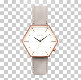 Analog Watch Clock CLUSE Minuit Jewellery PNG