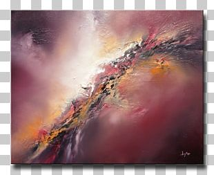 Oil Painting Abstract Art PNG