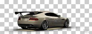 Personal Luxury Car Aston Martin DB9 Mid-size Car Rim PNG