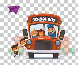 School Bus Student Bus Driver PNG